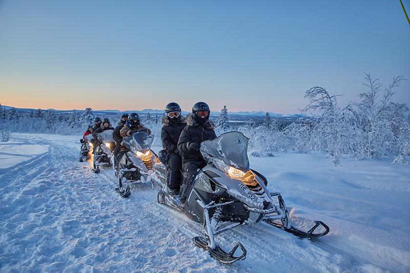 Snowmobile Safari Lapland Sweden