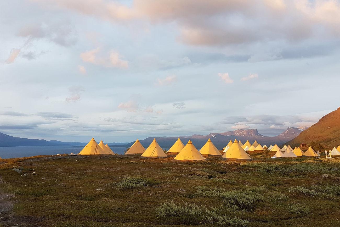 Arctic-event - Tentipi-camp Lapporten