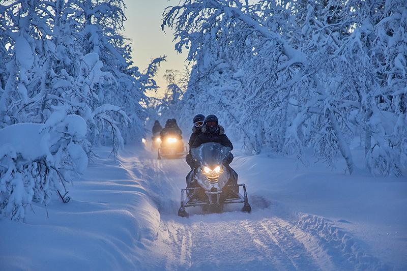 Camp Ripan - Winter_Activity_Snowmobile - Fjällguiden