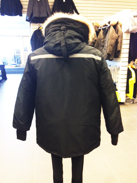 Clothing-warm-jacket-back