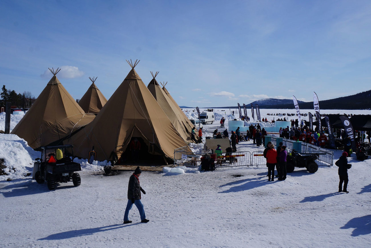 Tentipi event winter
